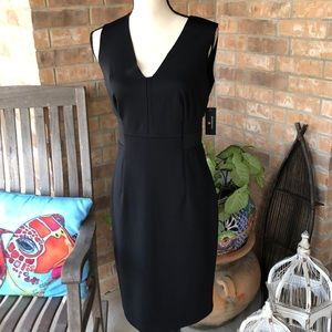 Black stretch dress